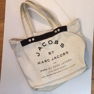 Marc Jacobs cloth tote bag